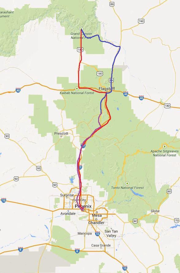 AZ Route