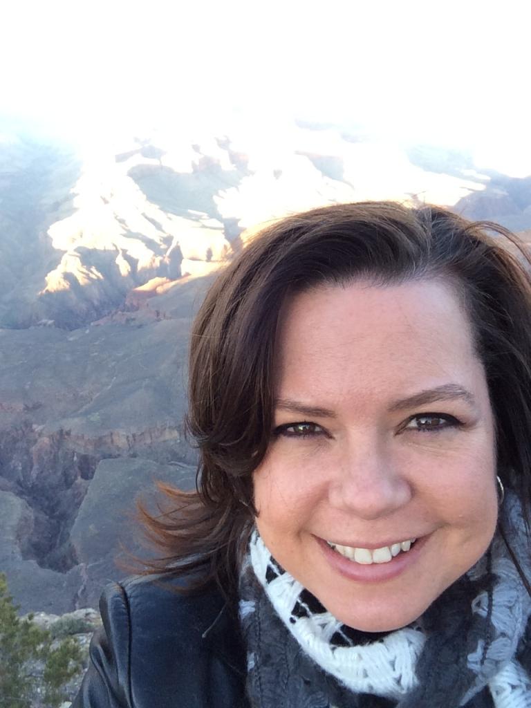 Yavapai Point, Grand Canyon, AZ-Sunset _Sandy