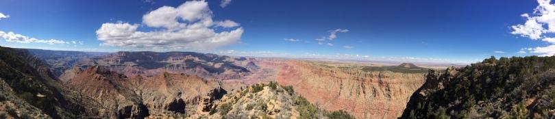 The Grand Canyon, AZ - PANO