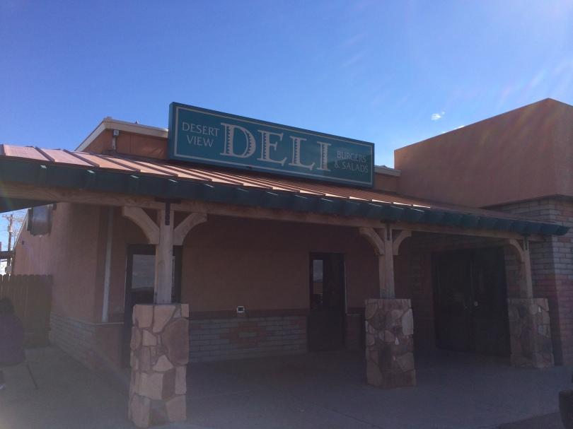 Desert View Deli, Cameron AZ