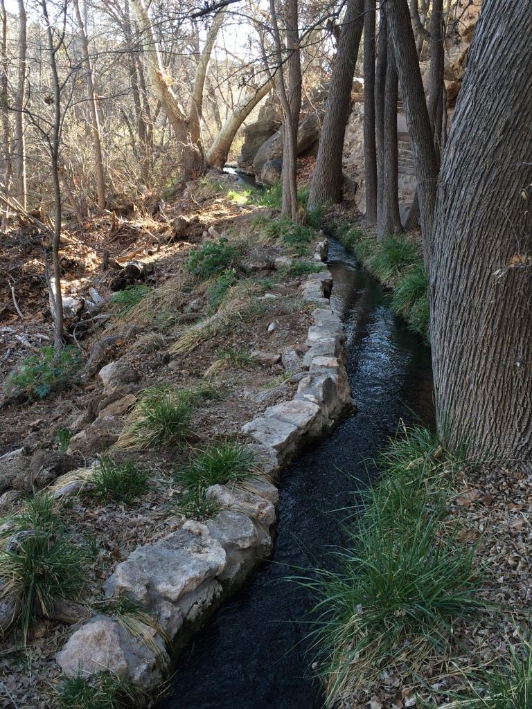 Montezuma's Well, AZ_Canals