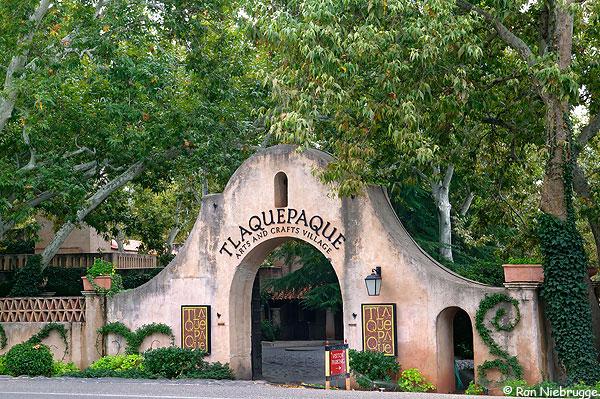 Tlaquepaque commercial center, Sedona, Arizona.